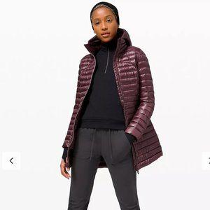 NWT Lululemon Pack it Down Jacket Long BORDEAUX